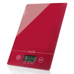 Wolfgang Puck Slim Digital Kitchen Scale at HSN.com.