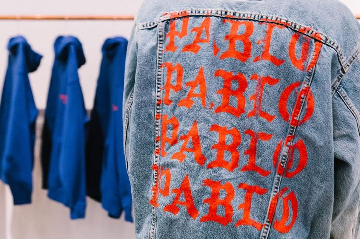 Preview of Kanye's The Life of Pablo merch pop-up. Check the link in bio to see the full collection. ( @andrewleegoble) by gq