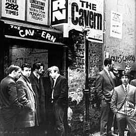 The originsl Cavern Club entrance 1963