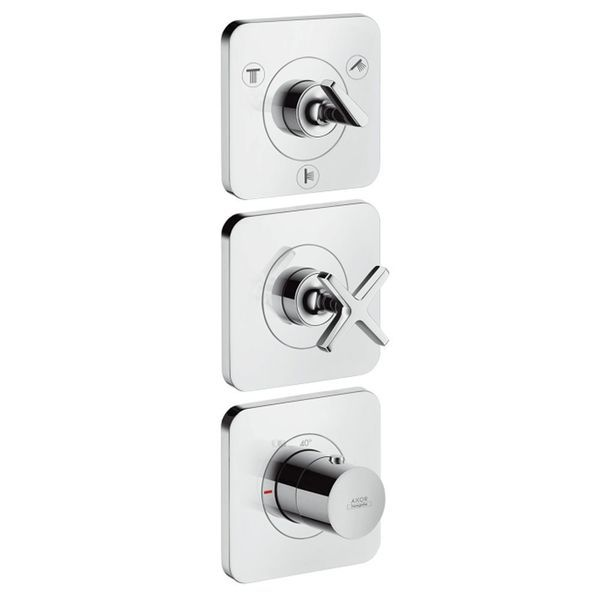 Hansgrohe Axor Citterio E Module Shower Valve For 3 Outlets | Shower Controls | CP Hart