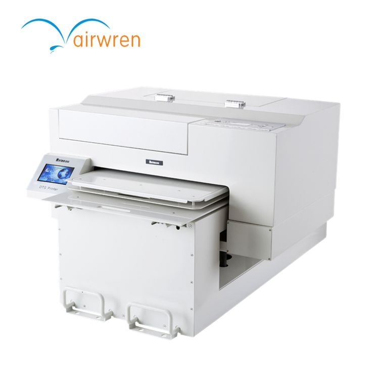 A2 Size direct to garment printer t shirt printing equipment with white ink