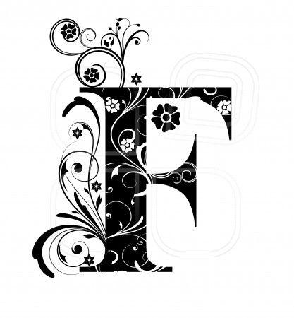 Letter F, alphabet, arabic, art