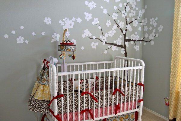Cute Gray Baby Room Colors Ideas