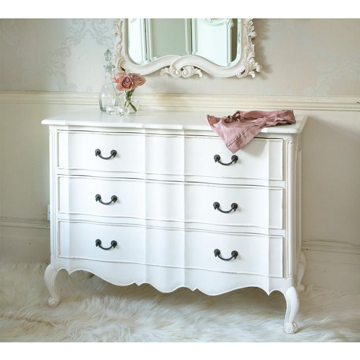 Provencal Classic White Chest of Drawers | French Chest
