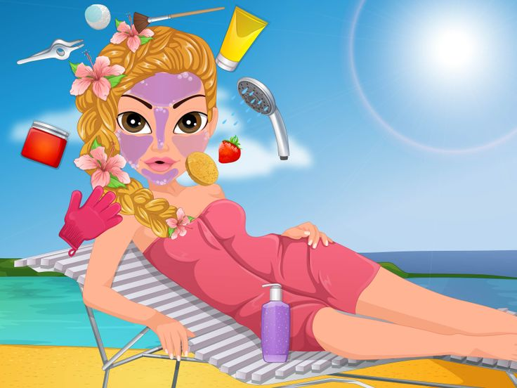 Tropical Spa Day  http://www.enjoydressup.com/facial-beauty-games/tropical-spa-day-7283.html