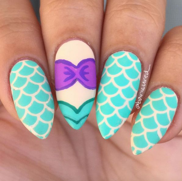 The 25 best little mermaid nail art ideas on pinterest little the best of summer nail art prinsesfo Gallery