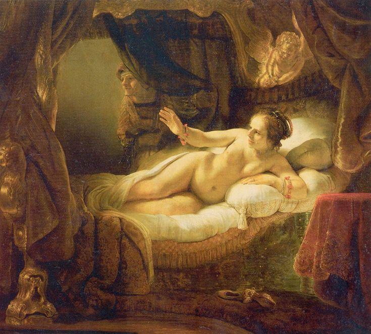 Rembrandt's Danaë, c. 1636. Эрмитаж, СПб.
