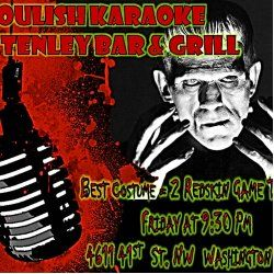 Get more information about Best Costume Prize at Ghoulish Karaoke - Tenley Bar 7 Grill Friday 10.30.15 - 9:30 Pm at CBS Local Washington