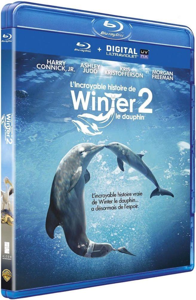 L Incroyable histoire de Winter le dauphin 2   en BLU-RAY - NEUF