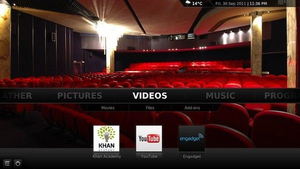 XBMC 11 for android...yup