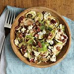 Pecan and Blue Cheese Brussels Sprout Salad Recipe | MyRecipes.com