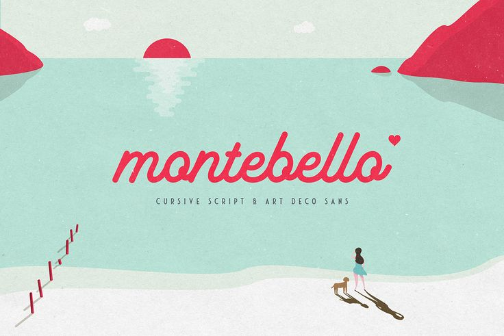Montebello Typeface on Behance