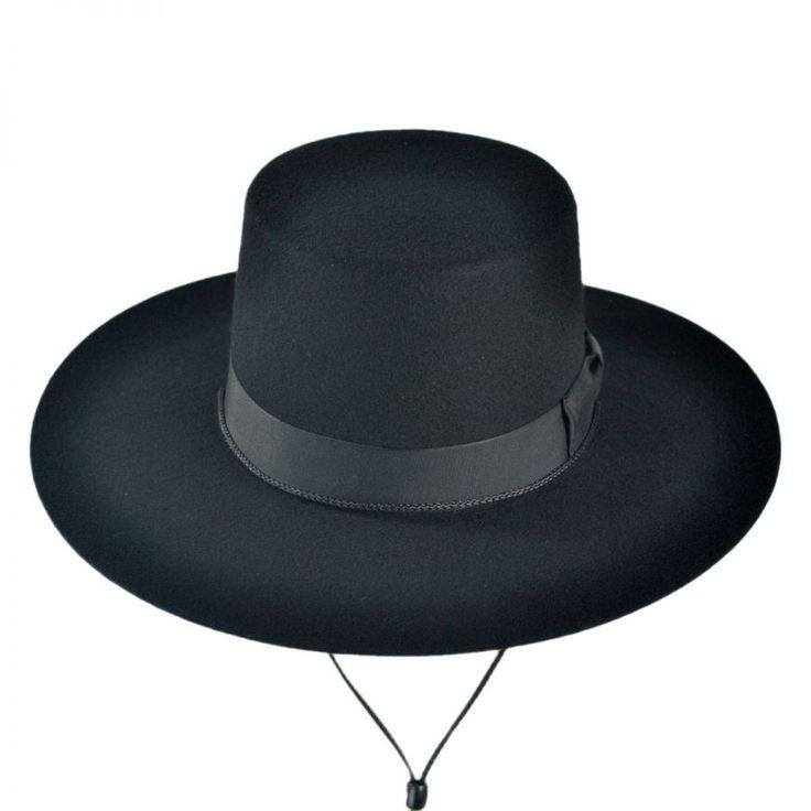 Made in the USA - Classics Wool Felt Bolero Hat