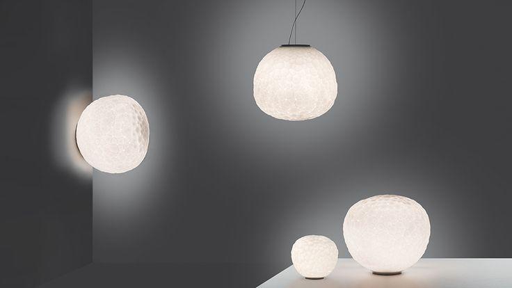 #Meteorite 48 tavolo, suspension and wall/ceiling. #design Pio e Tito Toso Also available in size 15 and 35.