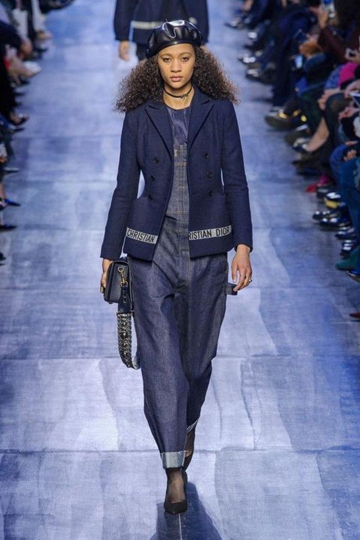 Pád zimní 2017 módní trendy džínové džínové oblečení