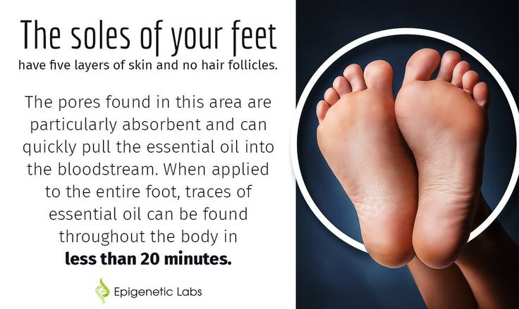 The soles of your feet have five layers of skin & no hair follicles. The pores found in this area are particularly absorbent & can quickly pull the essential oil into the bloodstream. When applied to the entire foot, traces of essential oil can be found throughout the body in less than 20 minutes. Click on the image above to learn more on how to apply lavender essential oil to the soles of your feet and it's benefits for cancer patients. Please re-pin to share with your family & friends.