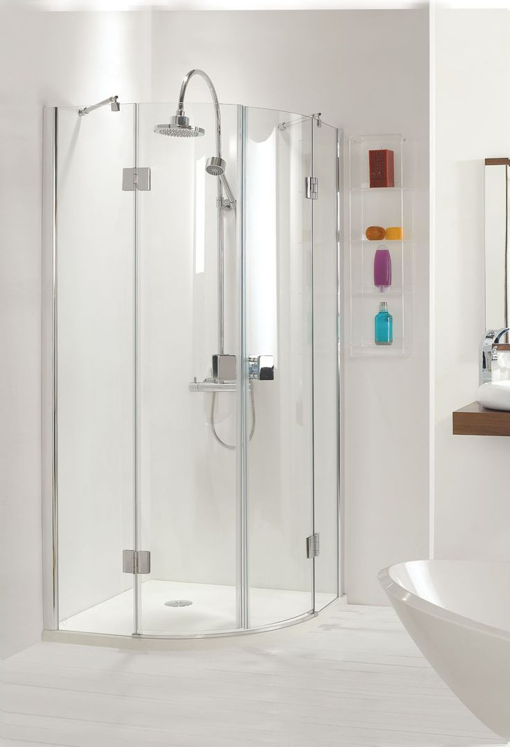Best Quadrant Shower Enclosure Part - 33: Frameless Quadrant Shower Enclosure Have More Elegant Look Than  Fully-framed Doors And They Can