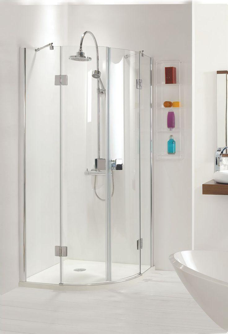 25 best images about bathroom shower enclosures on pinterest for Fully enclosed shower