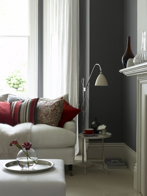 Best 25 red accents ideas on pinterest red living room - Accent colors for gray living room ...