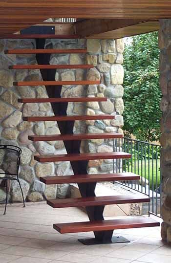 Architectural Stair Photo Gallery: Everything From Floating Stairs, To Straight & Curved Spiral Staircases From Mylen Stairs