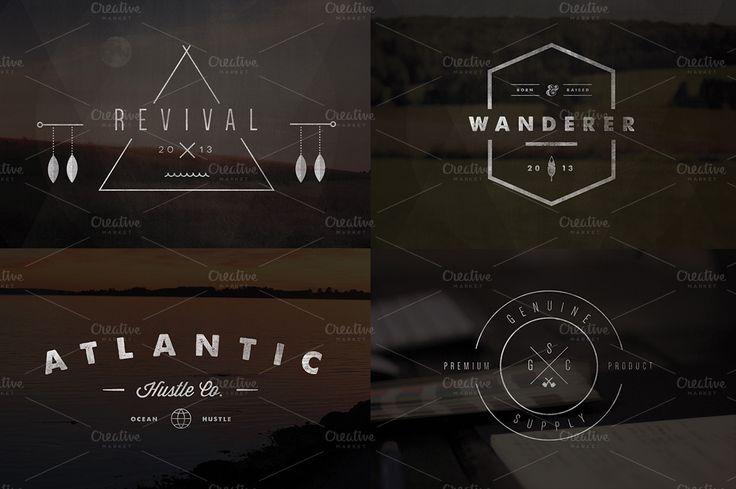 Logo Templates Product Images ~ Vintage Logo & I… ~ Creative Market