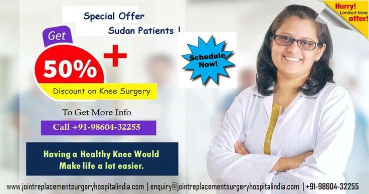 Affordable Knee Replacement Surgery in India: Special Offer For Sudan Patients