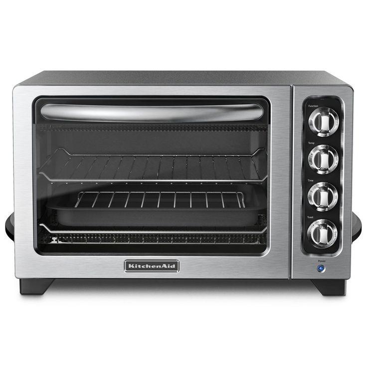 "KitchenAid KCO222QG 12"" Countertop Oven - Liquid Graphite"
