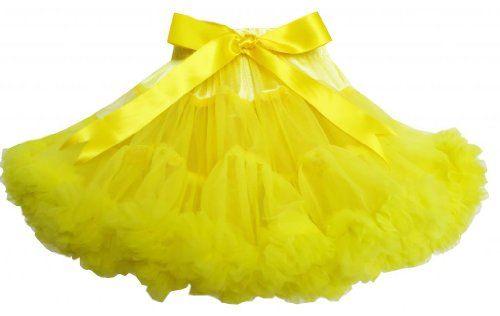 ES12 Sunny Fashion Little Girls' Skirt Tutu Dancing Dress Party Yellow Size 5 Sunny Fashion http://www.amazon.com/dp/B00JWD7X0Q/ref=cm_sw_r_pi_dp_ZcWtub09427RF
