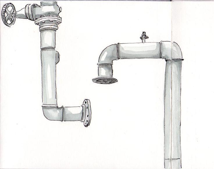 Pipes drawing sök på google industri pinterest