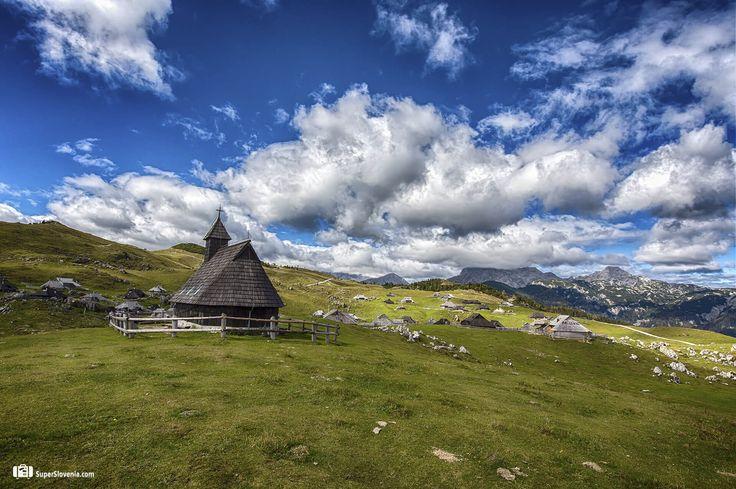 Plečnikova cerkev na Veliki Planini, Kamnik, Slovenia  Foto by: www.showinmyeyes.com Join us on: www.superslovenia.com