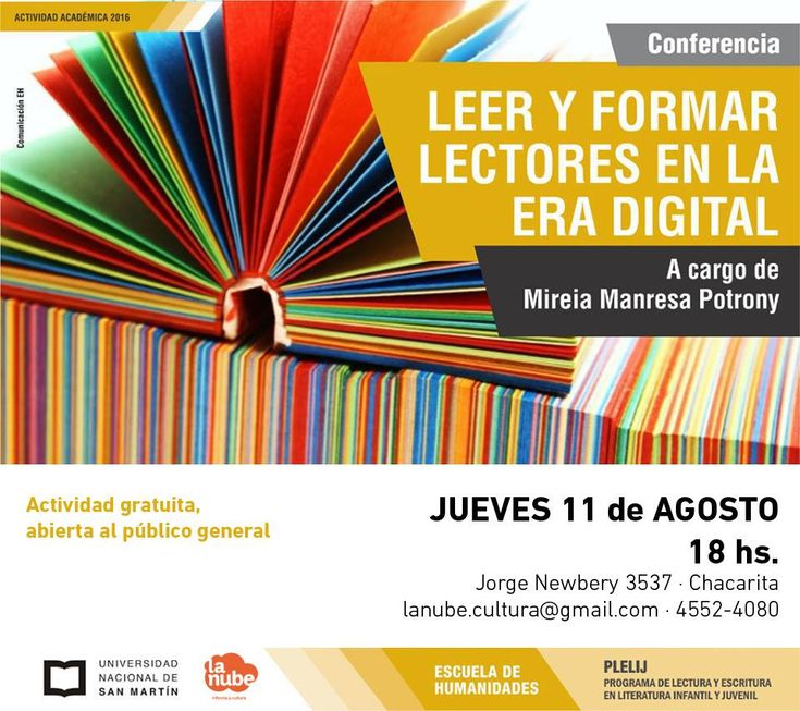 Leer y formar lectores en la era digital | LITERARIAS | Por Gabriela Mariel Arias