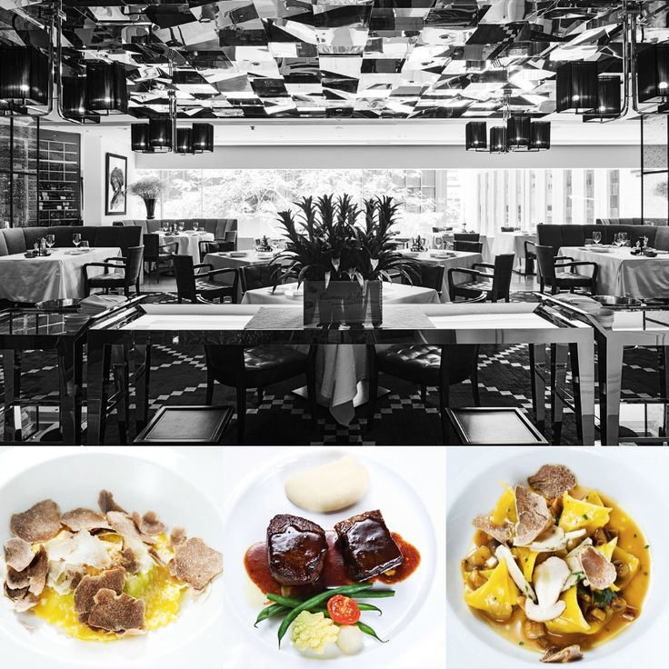 3 stars - Restaurant 8 e mezzo Bombana - Hong Kong #italianfood #italianchef #italianrestaurant www.100ITA.com