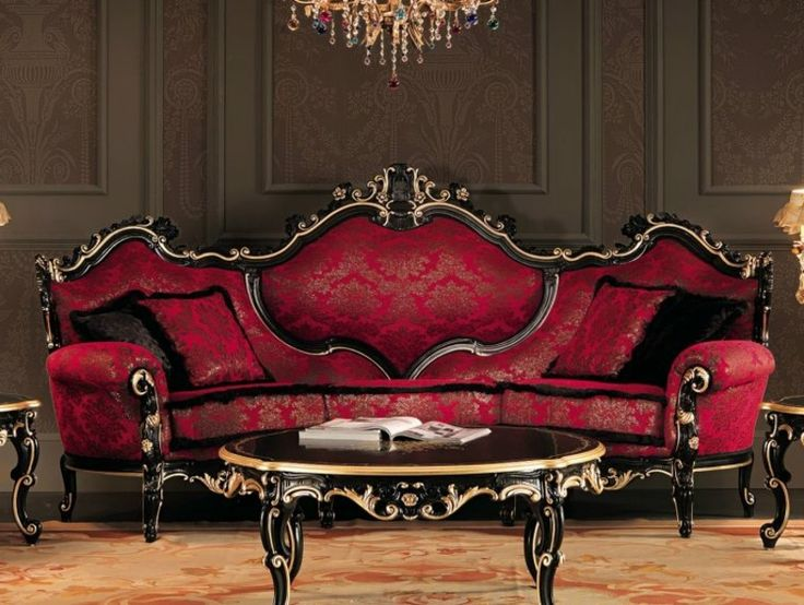 die besten 25 barock sofa ideen auf pinterest chesterfield stuhl chesterfield wohnzimmer und. Black Bedroom Furniture Sets. Home Design Ideas