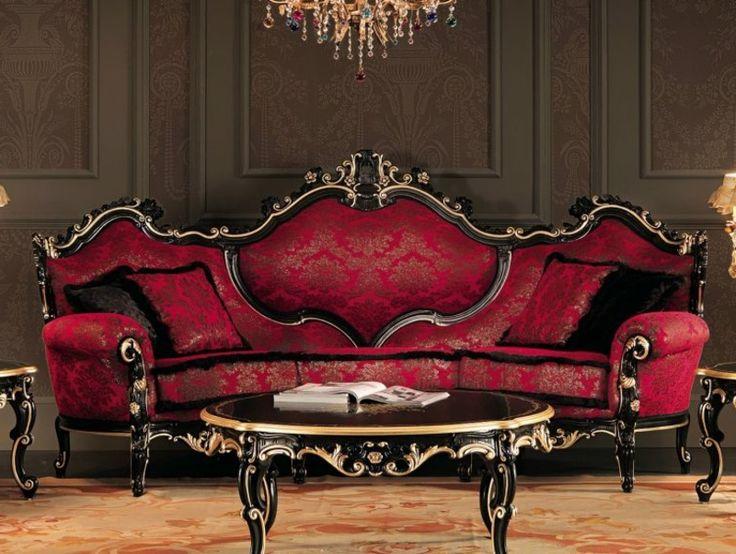 Barock Möbel sind auch heute aktuell und als Teil vom Interiour der modernen Wohnung können sie eine einzigartige Atmosphäre schaffen.