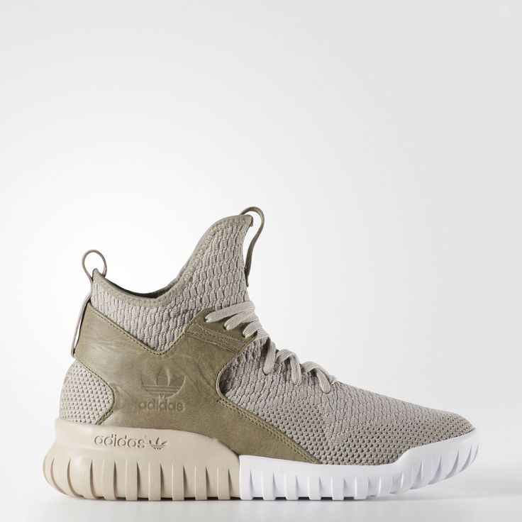 adidas Tubular X Knit Shoes – Grey