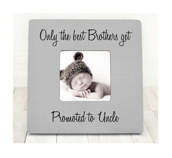 The 25 best uncle gifts ideas on pinterest uncle birthday uncle gift brother gift gifts for uncles uncle frame personalized gifts only the best brothers get promoted to uncle negle Choice Image