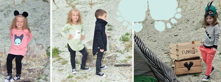 Autum/Winter 2014-14 Collection #Funkykids. #Children #Clothing, #Pants, #Dress, #Jacket , #Red , #Pink, #Black. #Cool #funky #kids #clothes. #New collection. #Unisex items for #kids. #organiccotton #cotton Shop online www.funkykids.ro For stockists: office@funkykids.ro