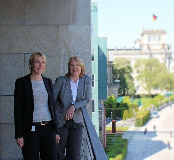 Wirtschaftsjuniorin besucht Bärbel Bas im Bundestag