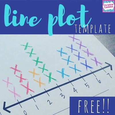 free line plot template   Perfect for:  -practicing line plots  -making tally charts and line plots  -blank line plot template  -reviewing how to make a line plot  Get it here for FREE!  Happy (line plot) Teaching!!  Christine Cadalzo  Teach-Think-Elementary  blank line plot Free math printable line plot activities line plots math for second grade math for third grade