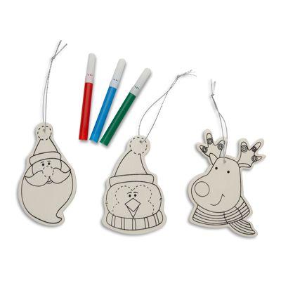 Trio de Craciun handmade - 9 LEI Ofera-i posibilitatea copilului tau de a impodobi bradul cu propriile sale creatii!