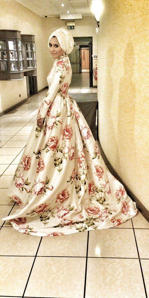 Dina's wedding dress