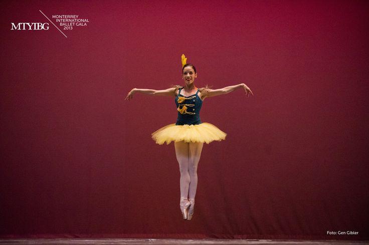Katia Carranza. Stars and Stripes. Ballet de Monterrey.