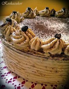 Koskacukor: Kávé torta