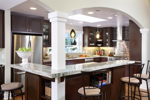 KitchenKitchens Colors, Kitchens Design, Kitchens Remodeling, Contemporary Kitchens, Kitchens Ideas, Columns, Kitchens Islands, House, San Francisco