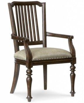 Haversham Slat Back Arm Chair - Dining Room Furniture - Furniture - Macy's