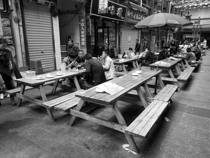 food street at nanchan temple #wuxi