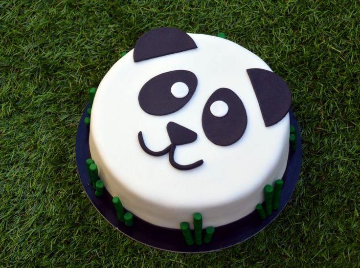 Panda torta készítése  How to make a panda cake - tutorial