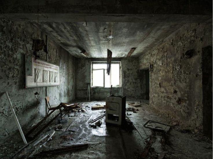 Implosion temporelle - Hôpital de Pripiat - David de Rueda