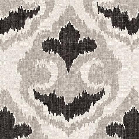 Ikat+Design+Wallpaper | - Florentina Ikat Gray Fabric By The Yard | Ballard Designs - ikat ...