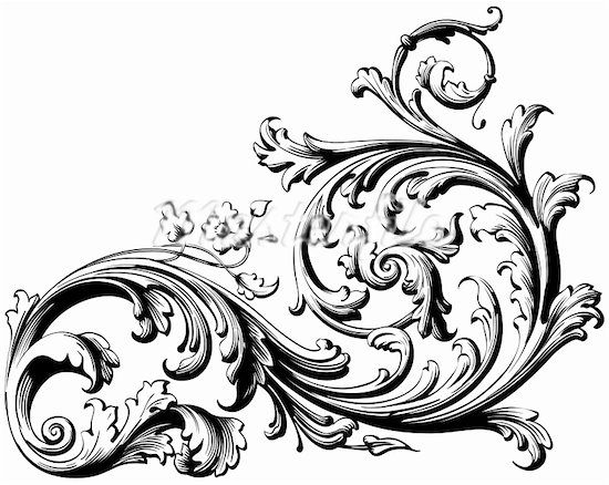 floral engraving- lovely pattern. | Art of all sorts ...
